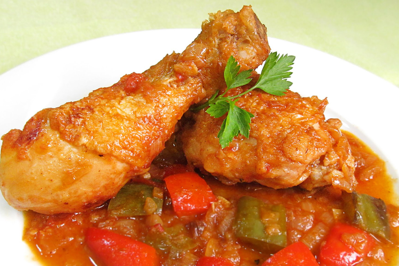 Pollo Al Chilindrón Deliciosicom