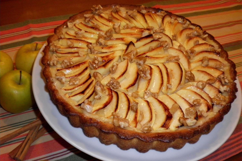 Tarta De Manzana Con Crema Pastelera Deliciosi Com