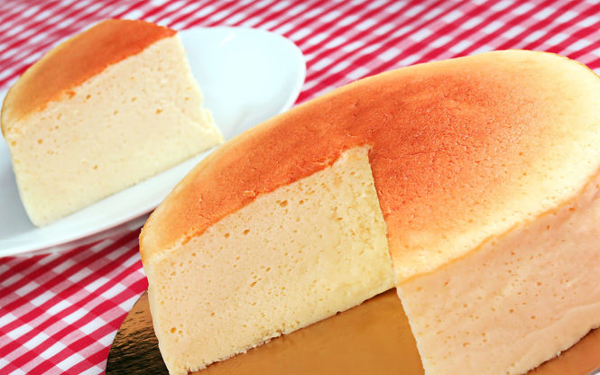 Tarta de queso japonesa cheesecake