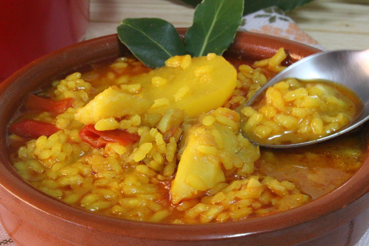 Patatas con bacalao y arroz guiso delicioso for Cocina bacalao con patatas