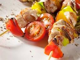 Brochette de pollo