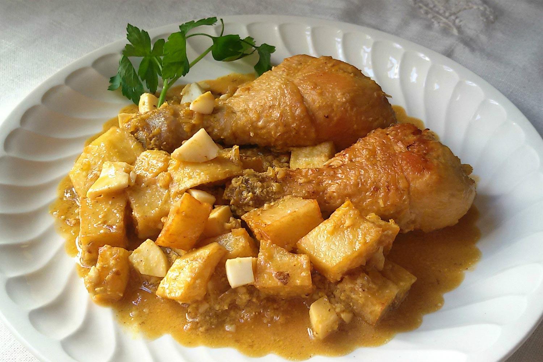 Pollo En Pepitoria O A La Pepitoria Deliciosi Com