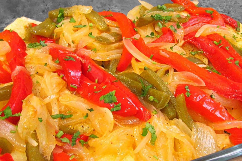 Patatas A Lo Pobre Al Horno Receta Deliciosicom