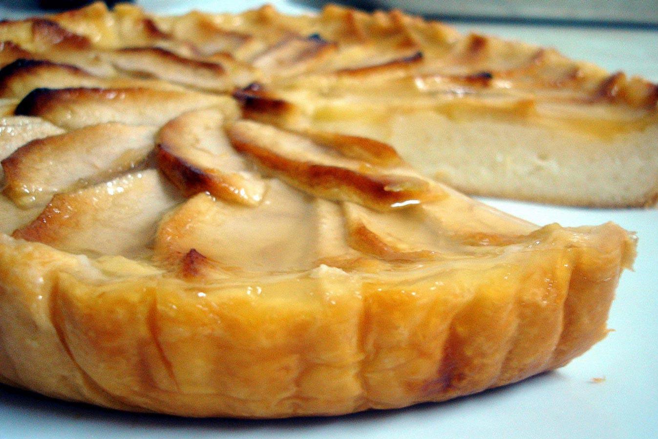 receta tarta manzana hojaldre thermomix