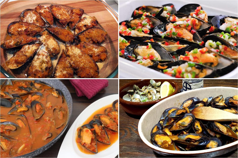 Recetas con mejillones como cocinarlos rellenos - Cenas sin cocinar ...