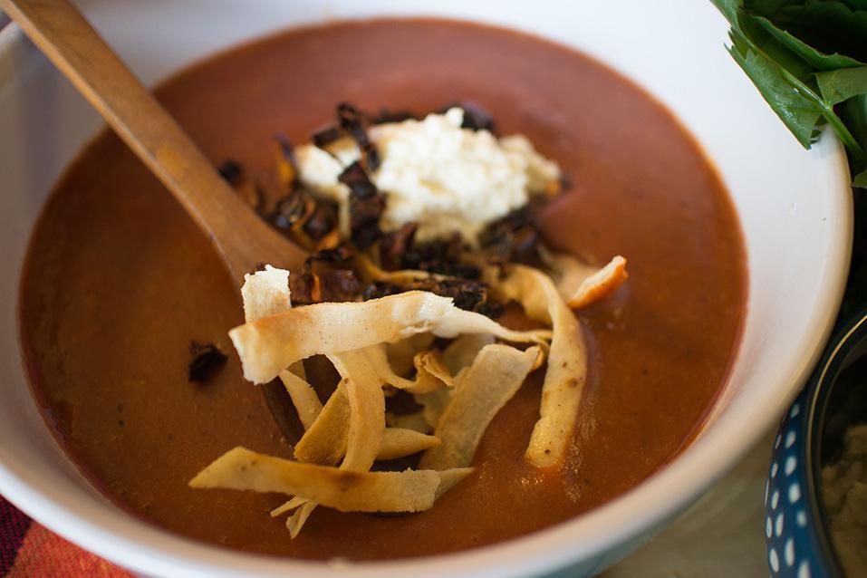 Sopa tarasca - Deliciosi.com