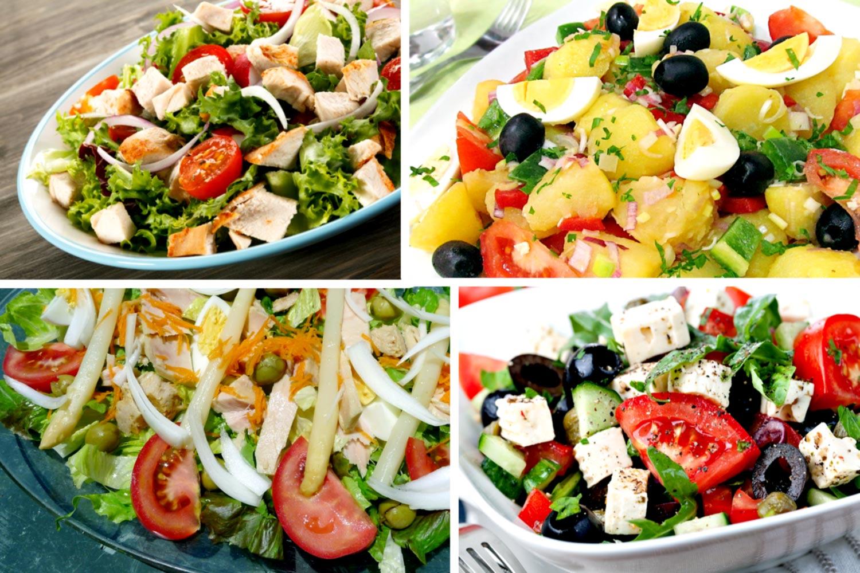 Recetas de ensaladas que no engorden