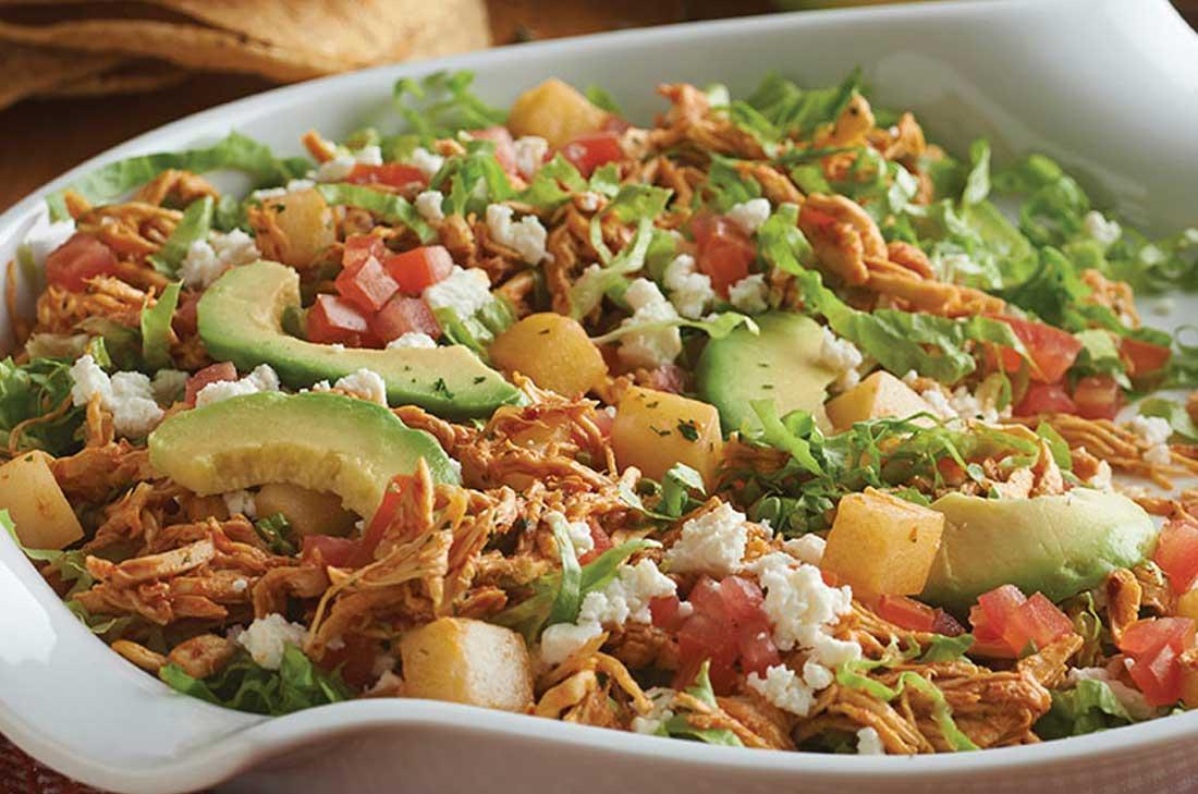 Salpicon De Pollo Deliciosicom - Recetas-de-cocina-con-pollo