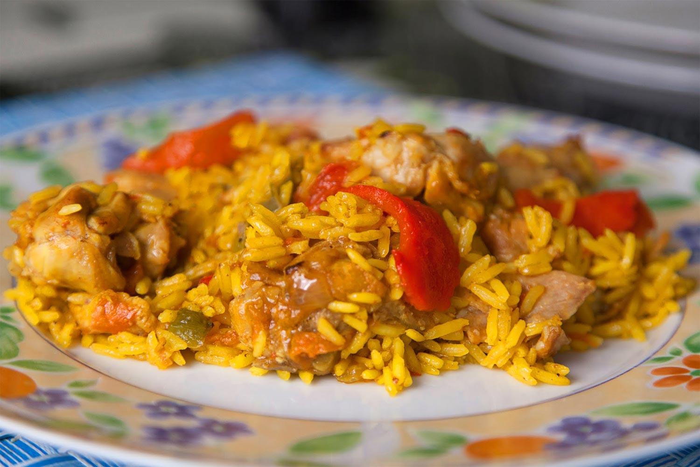 arroz con conejo receta